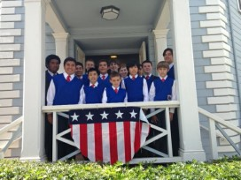 Golden Gate Boys Choir & Bellringers at Octagon House